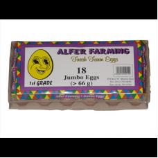 ALFER FARMING EGGS JUMBO 18'S