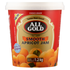 ALL GOLD JAM SMOOTH APRICOT 1.2KG