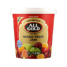 ALL GOLD JAM SMOOTH MIXED FRUIT 1.2KG