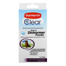 BOB MARTIN 3 IN 1 DEWORMER POWDER CAT 10GR