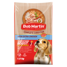 BOB MARTIN COMPLETE CONDITION CHICKEN FOR PUPPIES 1.5KG