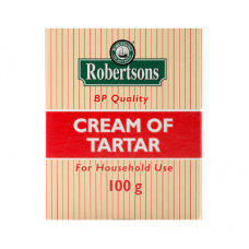 ROBERTSONS CREAM OF TARTAR 100GR