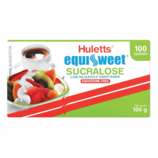 HULETTS EQUISWEET SUCRALOSE SACHETS 100'S