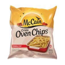 MCCAIN CRISPY OVEN CHIPS CRINKLE CUT 750GR