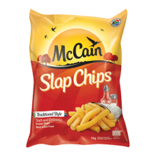 MCCAIN SLAP CHIPS TRADITIONAL STYLE 1KG