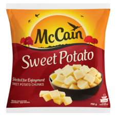 MCCAIN SWEET POTATO 750GR