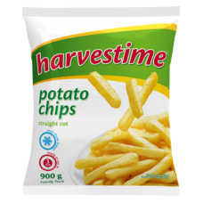 HARVESTIME POTATO CHIPS STRAIGHT CUT 900GR