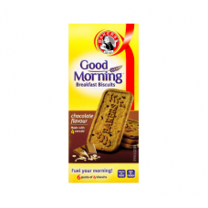 BAKERS GOOD MORNING BREAKFAST BISCUITS CHOCOLATE 300GR