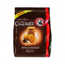 BAKERS CHOCKITS CLASSIC CHOCOLATE 1KG