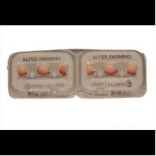 ALFER FARMING EGGS EXTRA LARGE 6'S