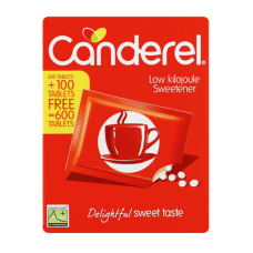 CANDEREL SWEETENER TABLETS RED 500+100