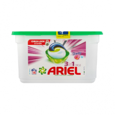 ARIEL AUTO 3 IN 1 CAPSULES TOUCH OF DOWNY 14'S