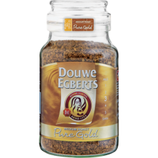 DOUWE EGBERTS INSTANT COFFEE PURE GOLD 200GR