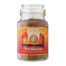 DOUWE EGBERTS INSTANT COFFEE MOCHA KENYA STYLE 200GR