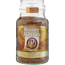 DOUWE EGBERTS INSTANT COFFEE PURE GOLD 400GR