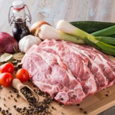 PORK BEST END CHOPS - 1KG PACK