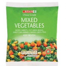 SPAR MIXED VEGETABLES 1KG