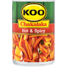 KOO CHAKALAKA HOT & SPICY 410GR