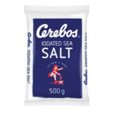 CEREBOS IODATED PLAIN TABLE SALT 500GR