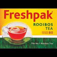 FRESHPAK TEABAGS ROOIBOS TAGLESS 80'S
