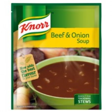 KNORR SOUP BEEF & ONION 50GR