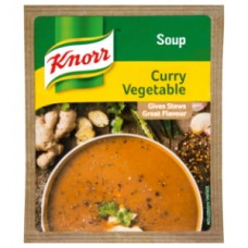 KNORR SOUP CURRY VEG 50GR