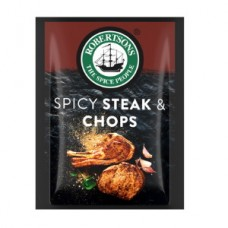 ROBERTSONS ENVELOPE SPICY STEAK AND CHOPS 7GR