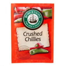 ROBERTSONS ENVELOPE CRUSHED CHILLI 7GR