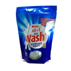 SPAR DISHWASHING TABLETS 16'S