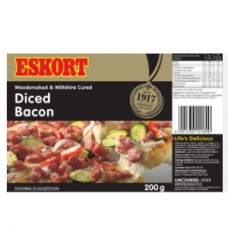 ESKORT BACON DICED 200GR