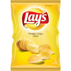 LAY'S SALTED 125GR