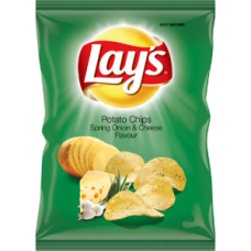 LAY'S SPRING ONION & CHEESE 125GR